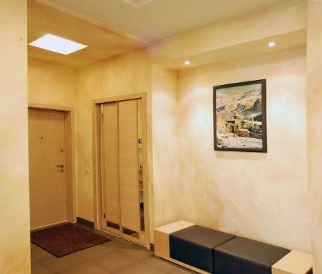 Дизайн интерьера квартиры в современном стиле. Прихожая