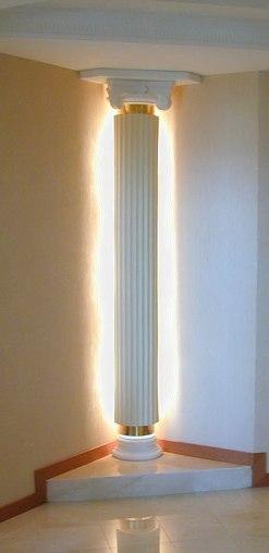 Колонна с подсветкой