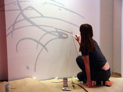 Выставка Марка Шагала в Государственном музее истории России. Дизайн интерьера экспозиции
